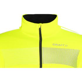 Craft Verve Glow Jas Heren geel